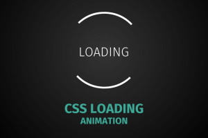 Thumbnail Pure CSS loading animation