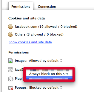 Step 3 - Change plugin permissions for page