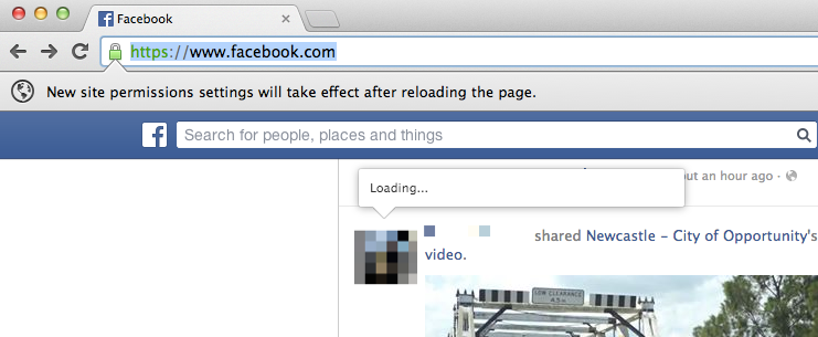 Step 4 - You will now be prompted to reload the page
